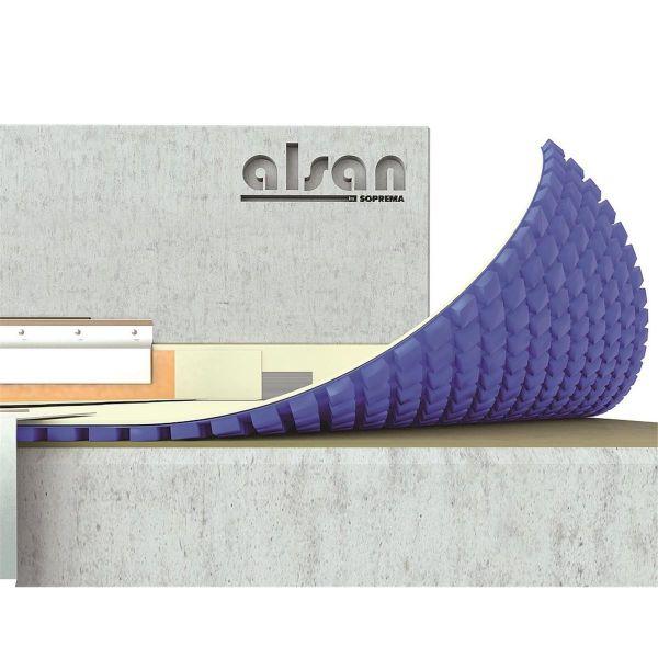 ALSAN VAPOREX-Matte | 2.000 x1.000 x 5 mm | Dampfdruckausgleichsmatte